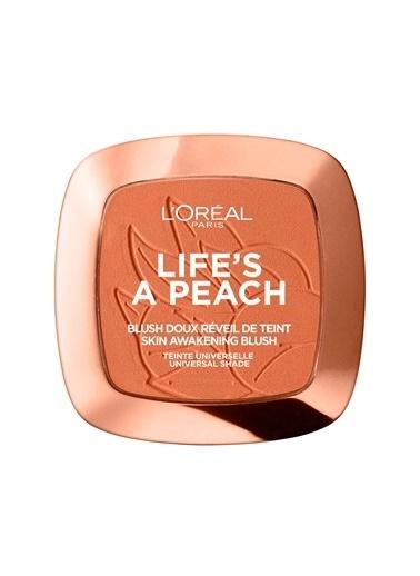 L'Oréal Paris L'Oréal Paris Life's A Peach Allık Oranj